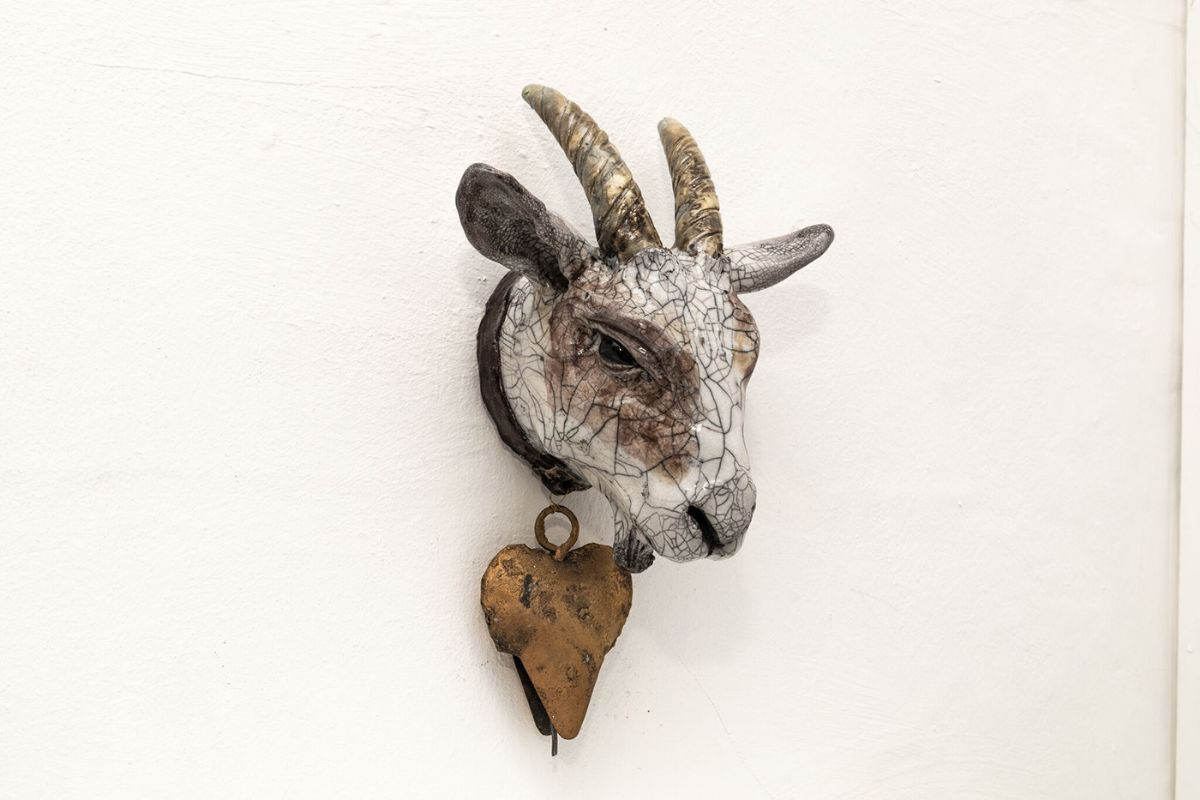 Goat with Bell by Carol Read Richard Ballantyne