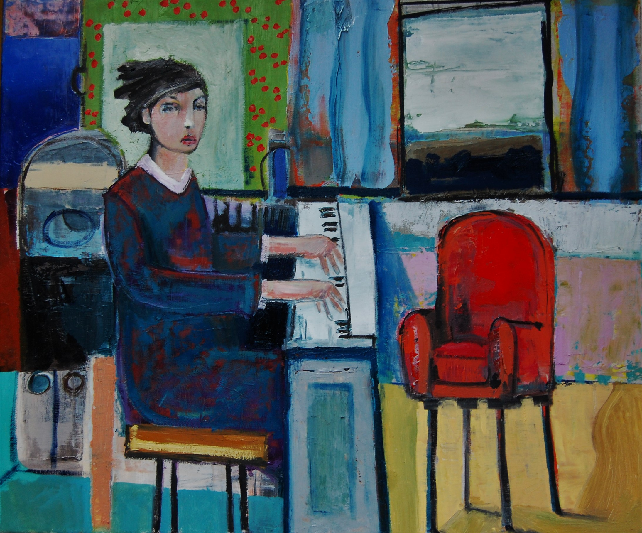 Empty Chair by Christy Keeney