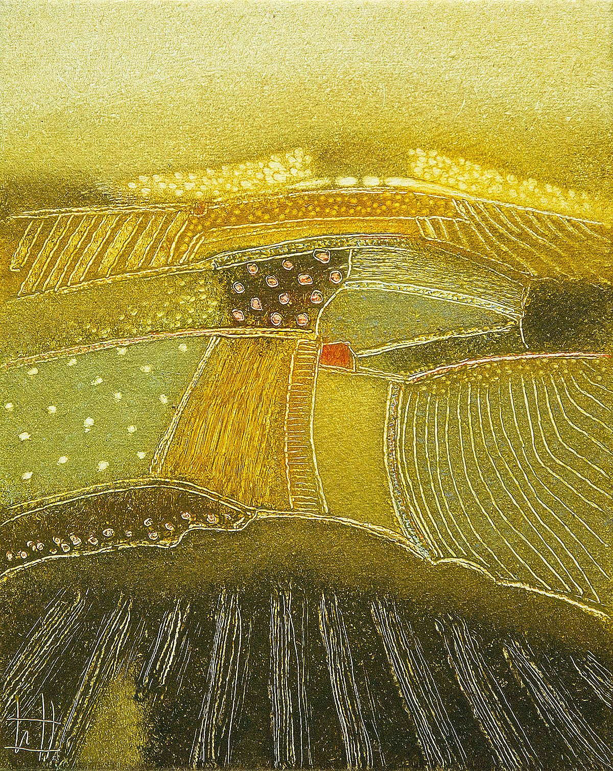 Fields of gold by Rob van Hoek