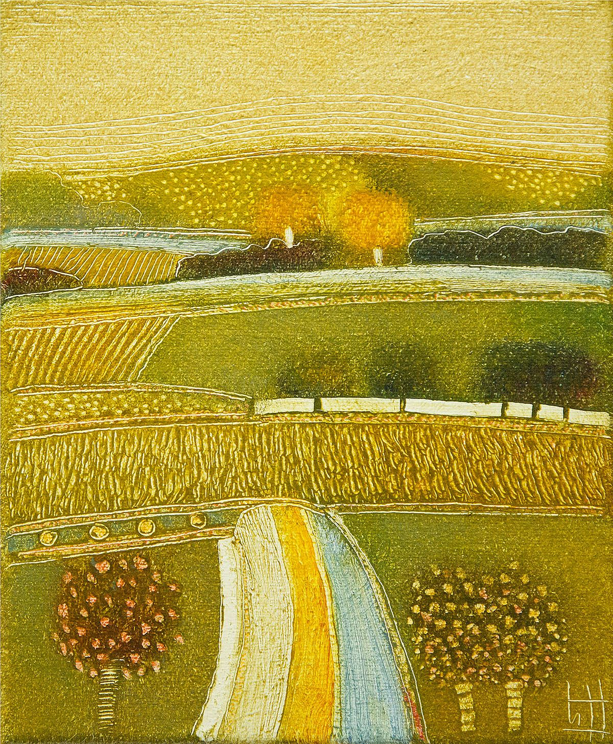 On a golden autumn day by Rob van Hoek