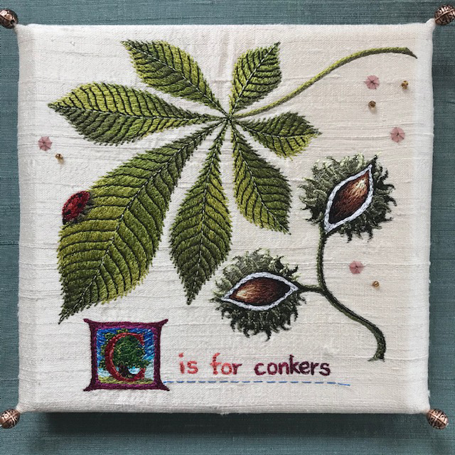 Aileen  Johnston - C is for conkers