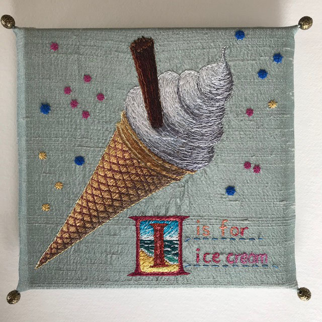 I is for Ice cream by Aileen  Johnston