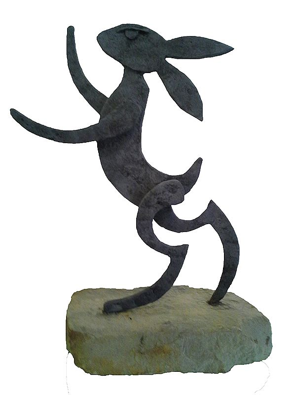 Standing Hare by Seamus Connolly