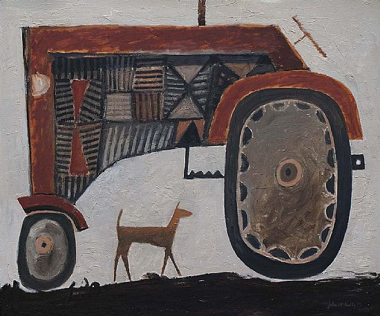 John  McNulty - Big red tractor