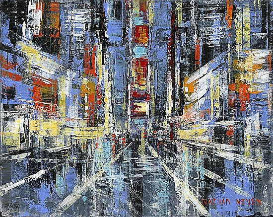 Nathan  Neven - Colors of Times Square I