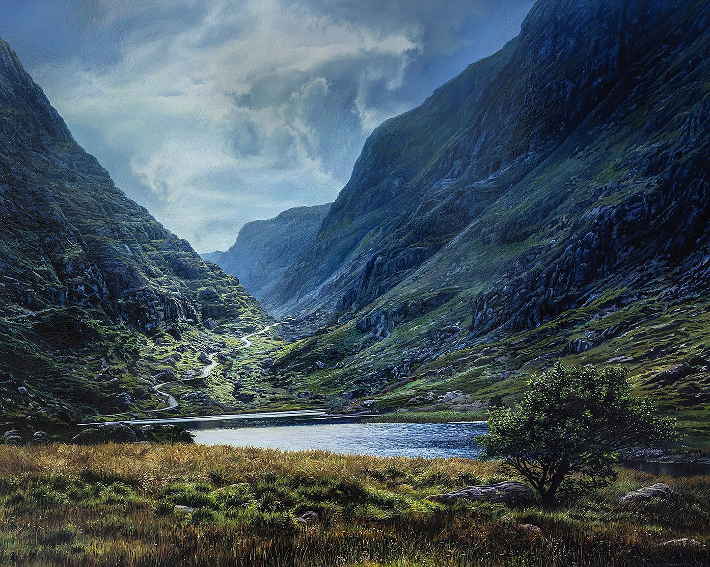 The Name of the Wind , Gap of Dunloe by Sergey  Talichkin