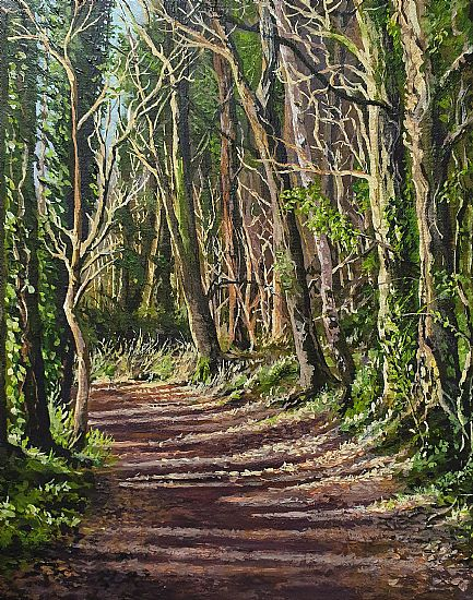 Geraldine O'Reilly Hynes - Deep in the woods