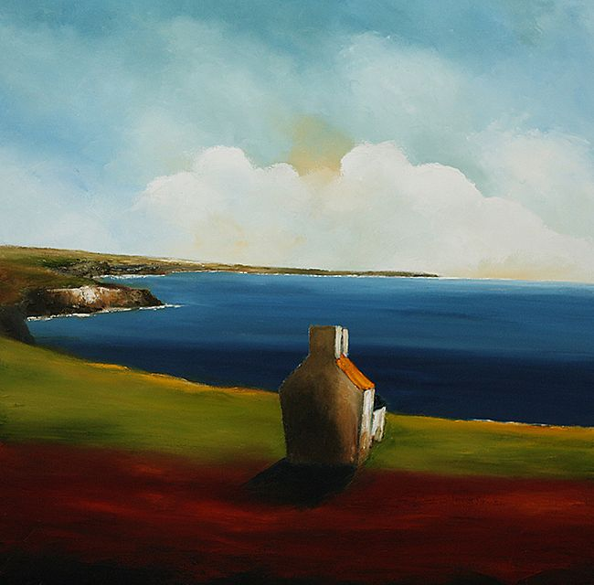 Farmhouse on the West Coast by Padraig McCaul