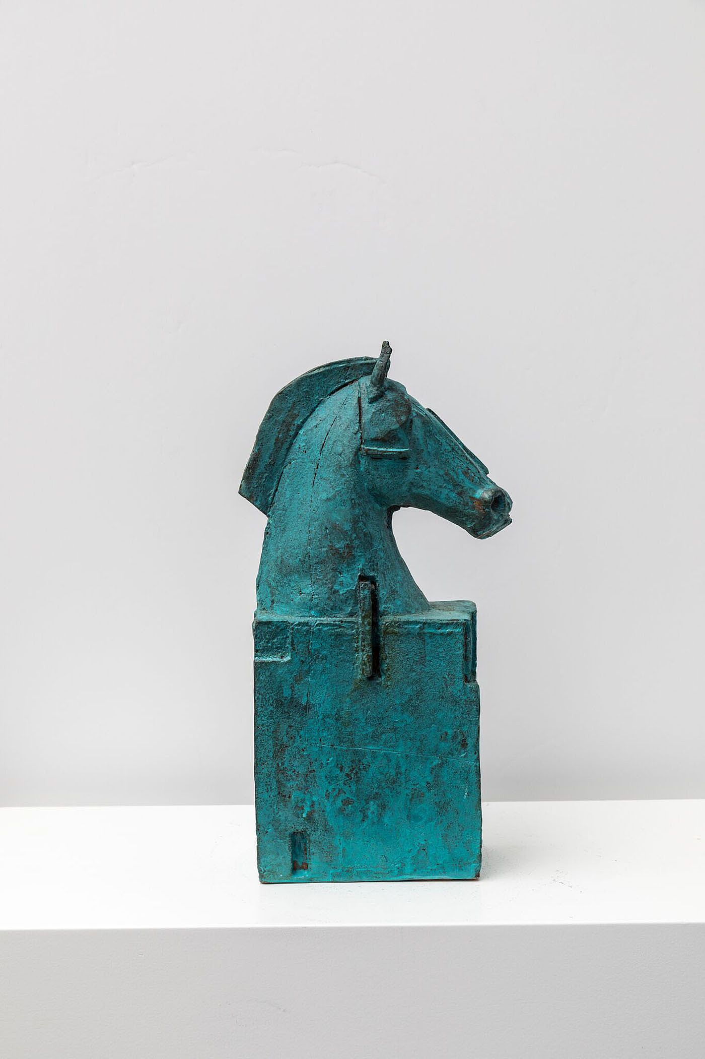 Green horse by Christy Keeney