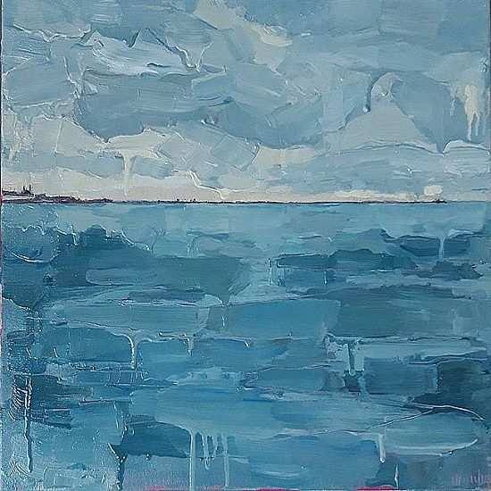 Isobel  Henihan - On Water (D�n Laoghaire from 40ft)