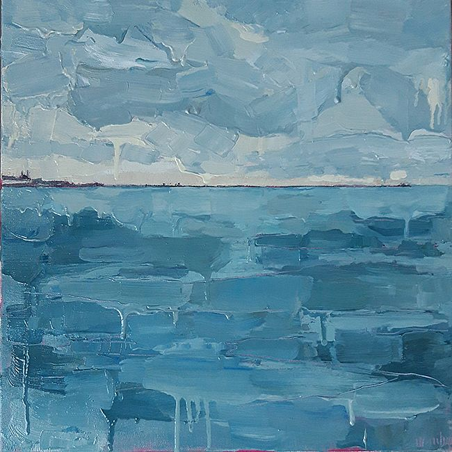 On Water (Dún Laoghaire from 40ft) by Isobel  Henihan