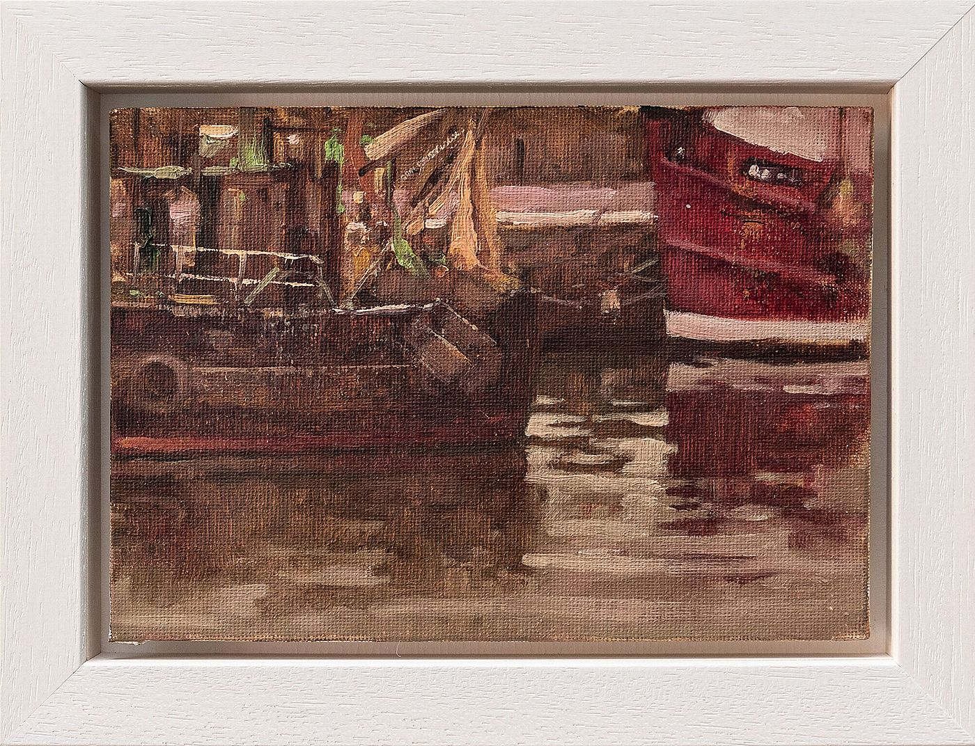 Fishing Boats by Dave West
