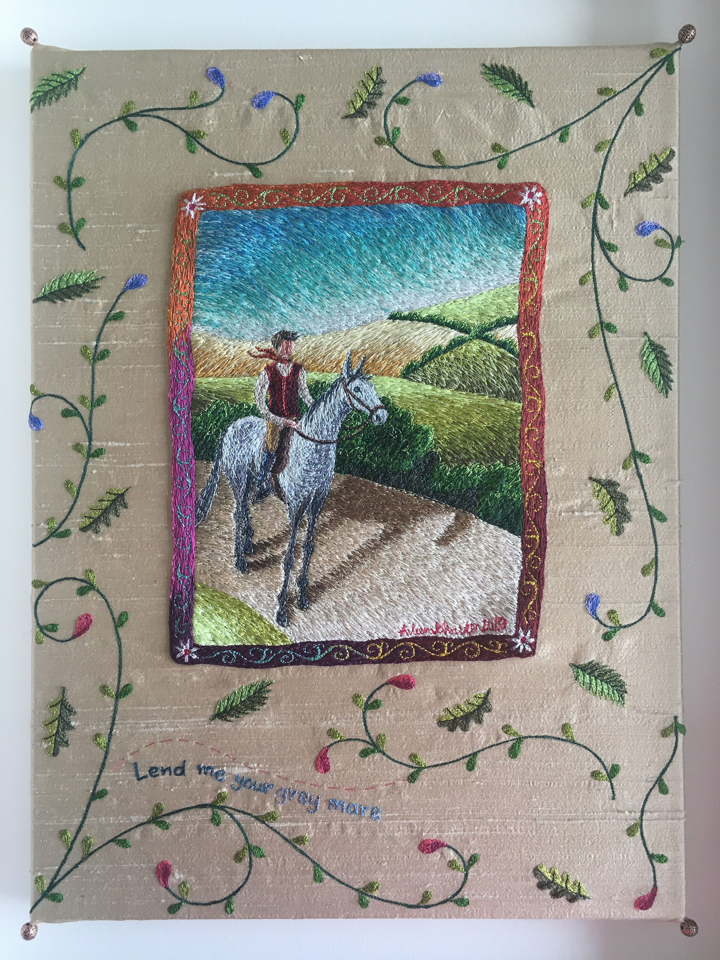 Lend me your grey Mare by Aileen  Johnston