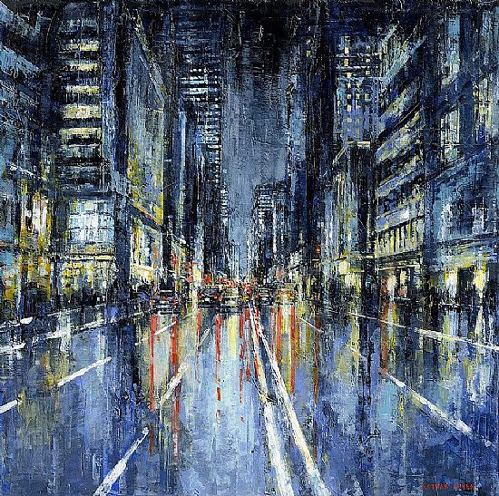 Nathan  Neven - Midtown by night