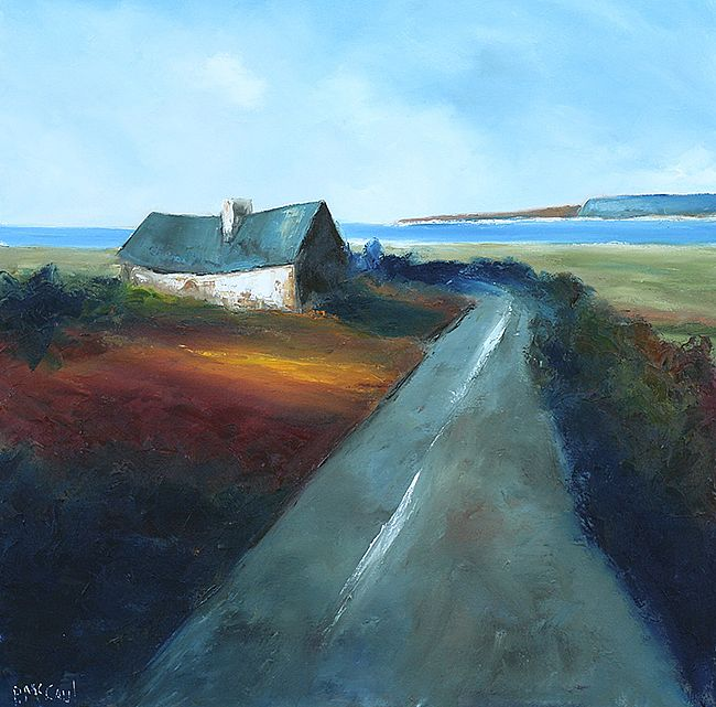 On the Clare road by Padraig McCaul