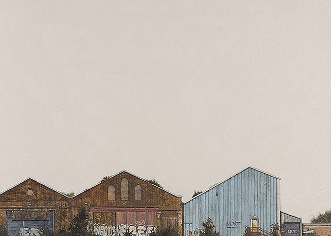 Cate  Inglis - Railway Sheds