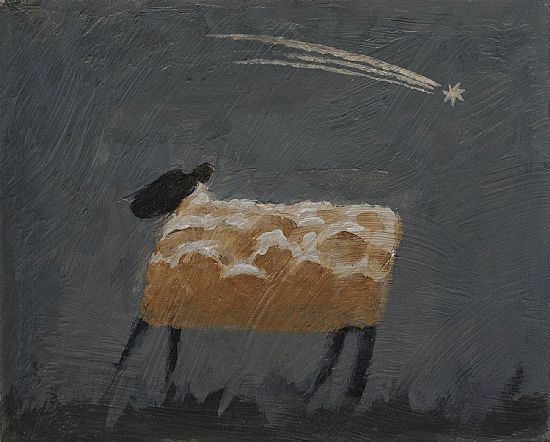 John  McNulty - Sheep with comet