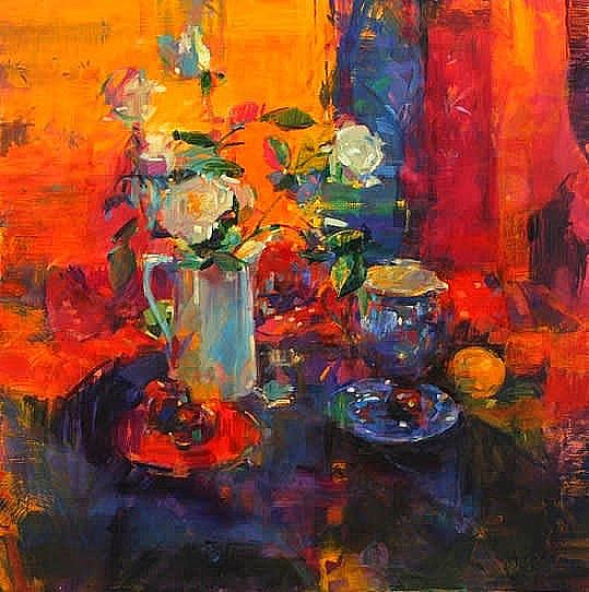 Peter  Graham ROI - Summer roses