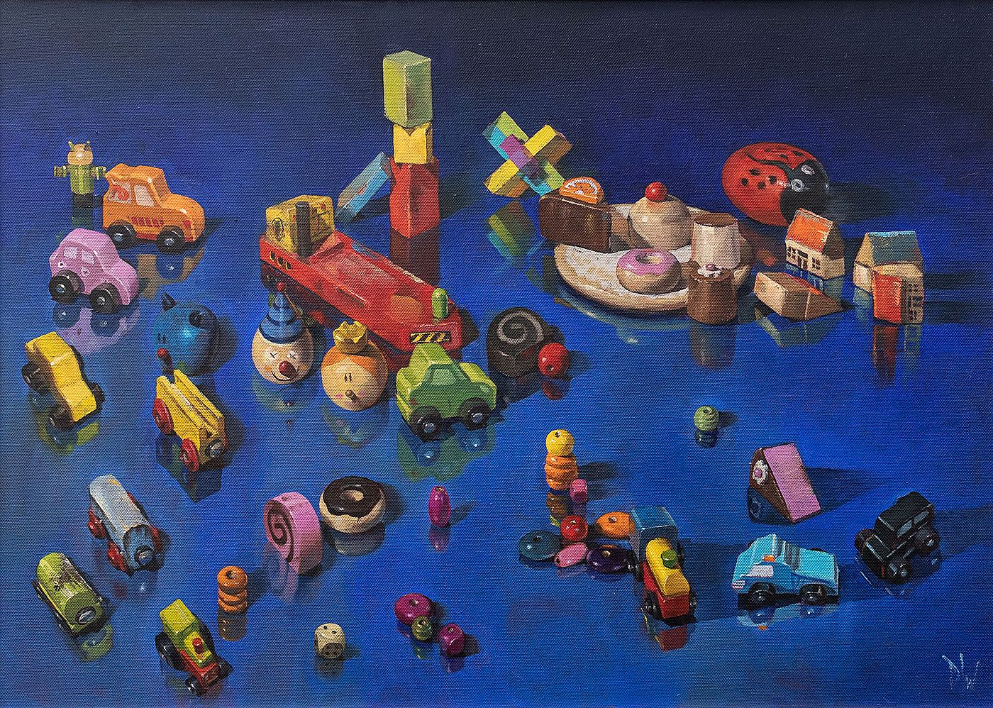 Wooden toys by Dave West