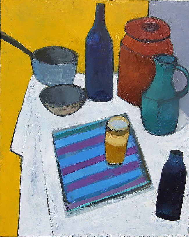 Auribeau Still-life by Cormac O'Leary