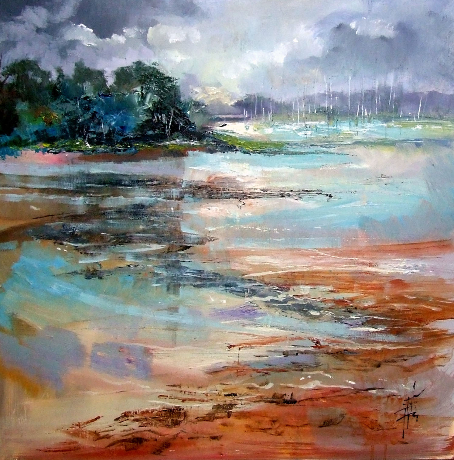 Anne  Doyle - Distant Creek