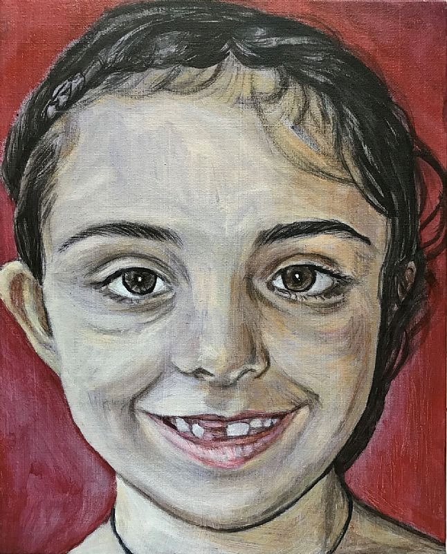 Christopher Banahan - Girl with front tooth missing