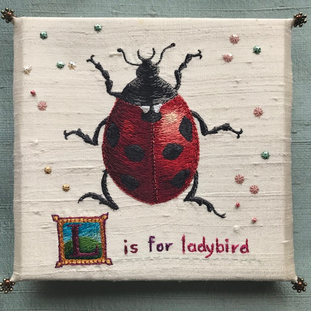 L is for Ladybird by Aileen  Johnston