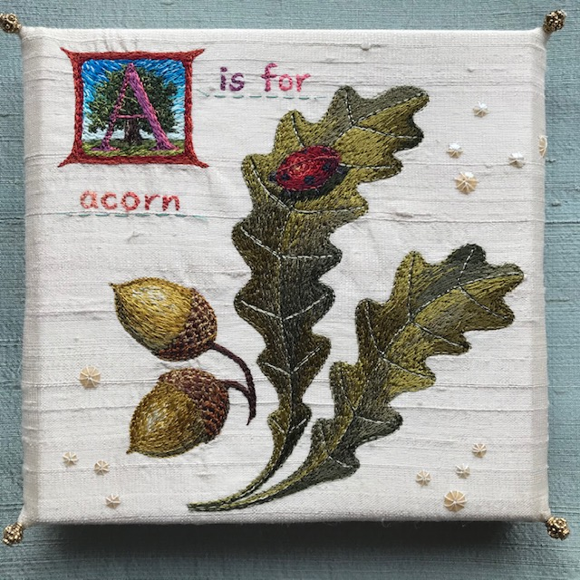 Aileen  Johnston - A is for Acorn