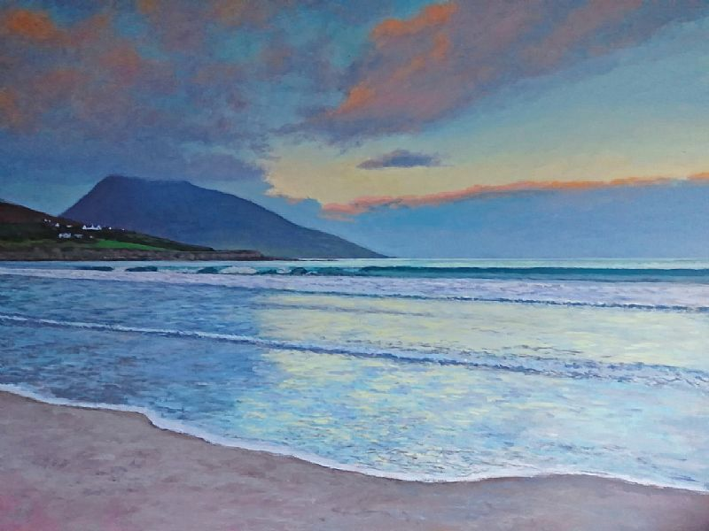 Gary Devon RUA - Last Light, Achill
