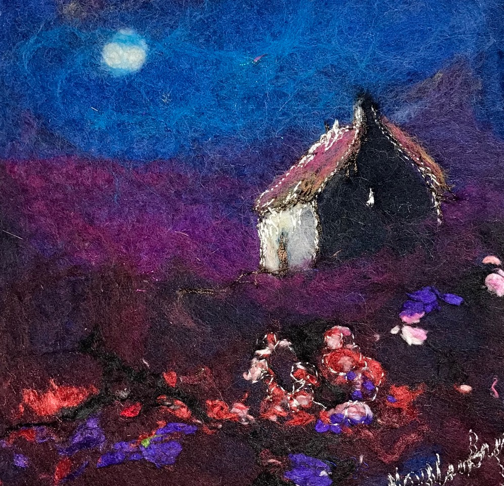 Harvest Moon by Moy  Mackay