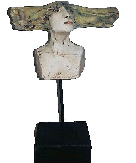 Stick head lll by Christy Keeney