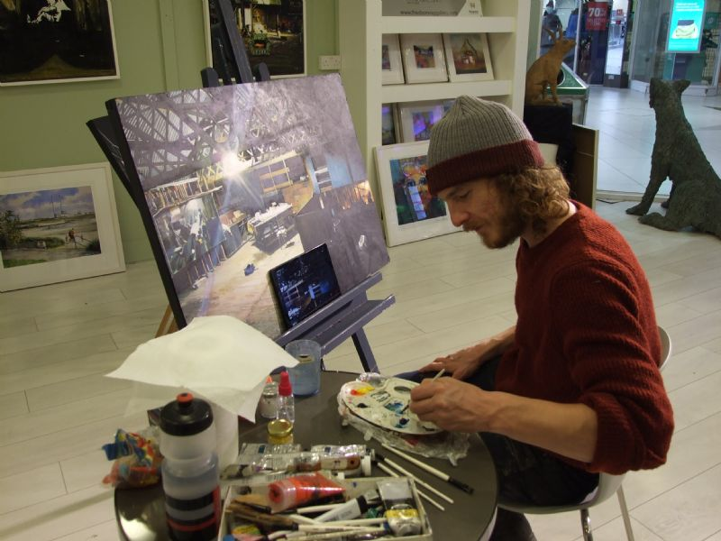 Getting to know David Ryan - Featured Artist