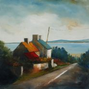 Along the Atlantic way�     An exhibition of new paintings by Padraig McCaul