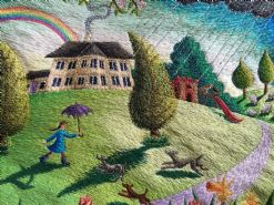 The Home Place  An exhibition of new Stitching�s by Aileen Johnson