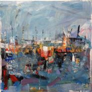 �Somewhere city, paintings�  An exhibition of new paintings by Leonard Sexton